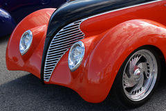 Hot rod front end royalty free stock photo