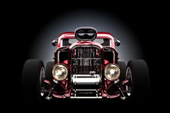 Hot rod with gradient background Stock Photo