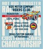 Hot Rod kids racing team Stock Photo