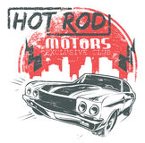 Hot rod motors Stock Photos