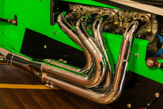 Hot Rod Pipes Royalty Free Stock Images