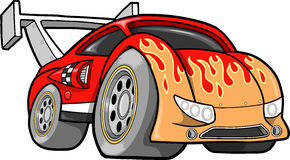 Hot-Rod Race-Car Vector Illustration Stock Image