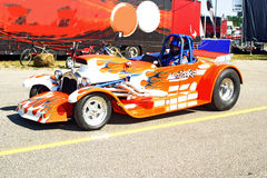 Hot rod racer Stock Images