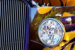 Hot Rod Show Car Light Royalty Free Stock Photography