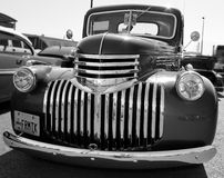 Hot Rod Truck. Image of a hot rod truck at a car show royalty free stock photography