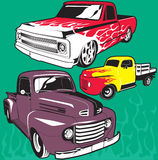 Hot Rod Trucks Royalty Free Stock Images