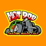 Hot rod, voitures faites sur commande Calibre d'impression de T-shirt illustration libre de droits