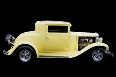 Hot Rod Yellow Stock Photography