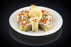 Hot roll with Stock Photography