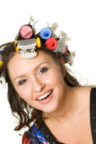 Hot rollers Royalty Free Stock Photos