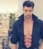 Hot Romantic Guy Royalty Free Stock Photography