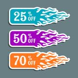 Vector hot sale labels Stock Photos