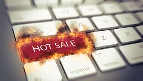 Hot Sale concept Royalty Free Stock Images