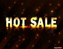 Hot sale design. I have created hot sale design in vector eps 10 royalty free illustration