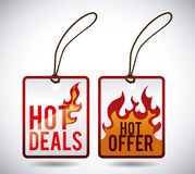 Hot sale. Design, vector illustration eps10 graphic Stock Photography