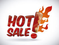 Hot sale. Design, vector illustration eps10 graphic Royalty Free Stock Images