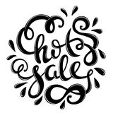 Hot sale hand drawn lettering. Vector illustration Stock Photos