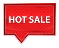 Hot Sale misty rose pink banner button. Hot Sale Isolated on misty rose pink banner button royalty free illustration