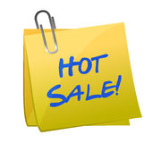 Hot sale post it Stock Image
