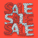 Hot Sale poster Royalty Free Stock Photos
