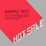 Hot sale poster Stock Photos