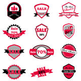 Hot sale and price labels vector set Royalty Free Stock Photo