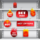 Hot sale rack wobblers print Stock Images