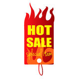 Hot sale tag special item Royalty Free Stock Photography