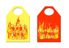 Hot sale tickets Royalty Free Stock Photo