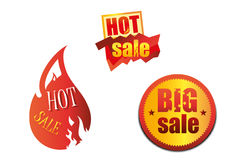 Hot Sale trade icons Stock Images