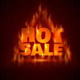 Hot Sale. Vector illustration. Stock Photography