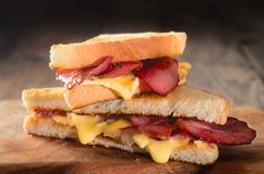 Hot sandwiches Royalty Free Stock Photo