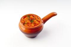 Hot sauce adjika Stock Images