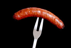 Hot Sausage Stock Image