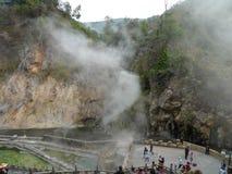 Hot sea park in tengchong, yunnan, china Royalty Free Stock Photography