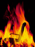 Hot seat Royalty Free Stock Photography