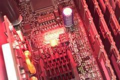 Hot server Stock Image