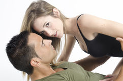 Hot sexy couple Stock Photography