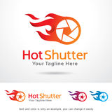 Hot Shutter Template Design Vector. This design suitable for logo or icon Stock Photo