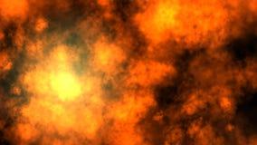 Hot Smoke Animation stock video