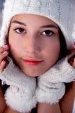 Hot snow bunny Stock Image