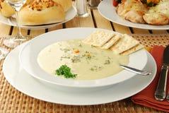 Hot soup Stock Photo