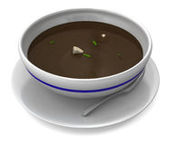 Hot Soup Stock Image