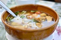 hot soup Στοκ φωτογραφία με δικαίωμα ελεύθερης χρήσης