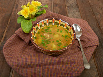 Hot soup Stock Photography