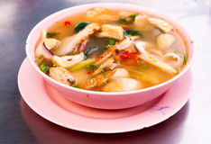 Hot and sour seafood soup Royalty Free Stock Photos