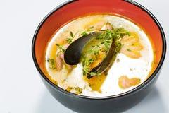 Hot and sour seafood soup, Stock Photos