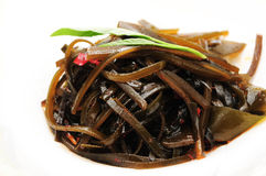 Hot and sour shredded kelp Royalty Free Stock Photo