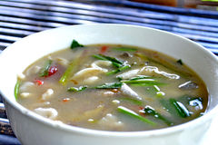 Hot and sour soup Stock Images