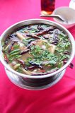 Hot and sour soup Royalty Free Stock Photography